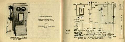 Antique Phone Wiring Diagram by Telephone Diagram