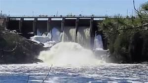Big Hydraulic Falls Dam - Quinessec  Michigan