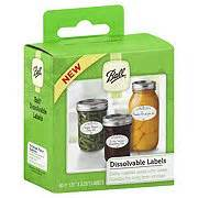 ball dissolvable labels shop canning supplies at heb With canning supplies labels