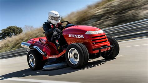 Worlds Fastest Honda by Honda Breaks Fastest Lawnmower World Record With
