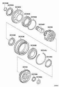 Lexus Nx 300h Gear  Planetary Ring  Transmission  Front