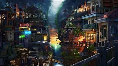 Fantasy Deviantart Environment Sky Sea Wallpapers Background