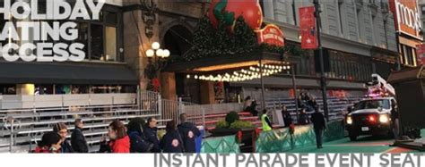 york city thanksgiving day parade seating solutions