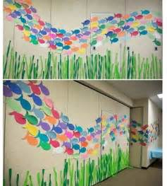 Diy Graduation Decorations Pinterest by Ocean Animals Wall Decoration For 2 171 Funnycrafts