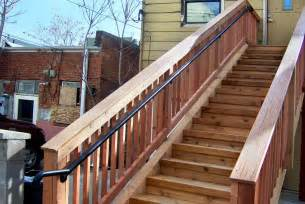 Deck Stair Railing
