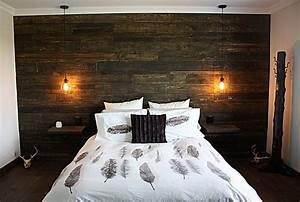 nos realisations en construction neuve et en renovation With mur de chambre en bois
