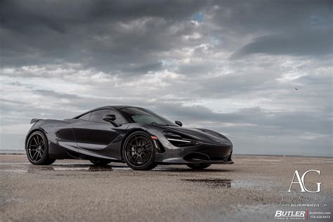 ag luxury wheels mclaren  forged wheels
