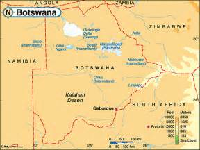 Botswana Physical Map by Maps.com from Maps.com -- World's Largest ... Botswana