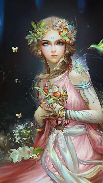 Fairy Fantasy Artwork 4k Wallpapers Blonde Desktop