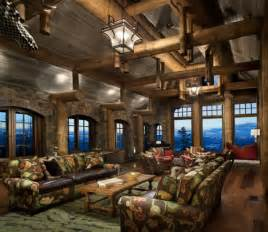 Log Cabin Kitchen Island Ideas by Stone Mountain Chalet Decor Modern Home Decor