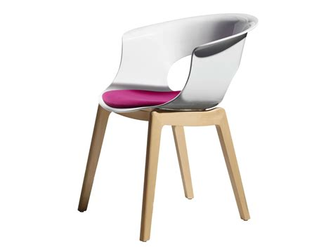 chaise en polycarbonate natural miss b antishock ligne