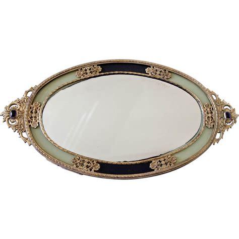 mirror vanity tray vintage ormolu mirror vanity tray japan from