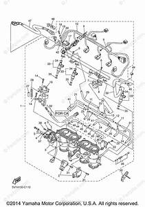 Yamaha Motorcycle 2004 Oem Parts Diagram For Intake 2