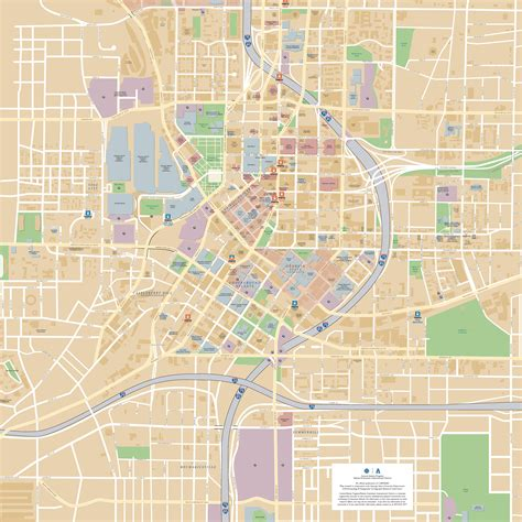 atlanta downtown map