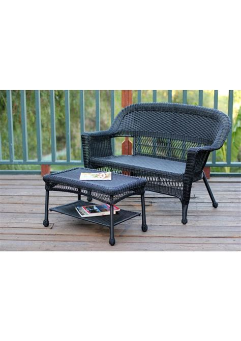 Find new outdoor coffee tables for your home at joss & main. Black Wicker Coffee Table