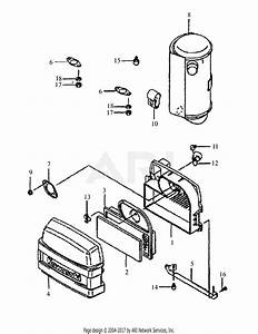 Mtd 1748f  55af3dam195 Parts Diagram For Kawasaki Air