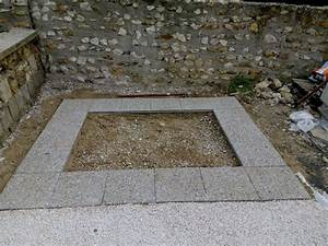 Pose Abri De Jardin Sur Dalle Gravillonnée : 1 abri de jardin installation des dalles ~ Dailycaller-alerts.com Idées de Décoration