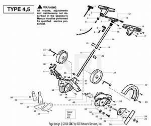 Poulan Pe550 Gas Edger Type 1 Parts Diagram For Handle