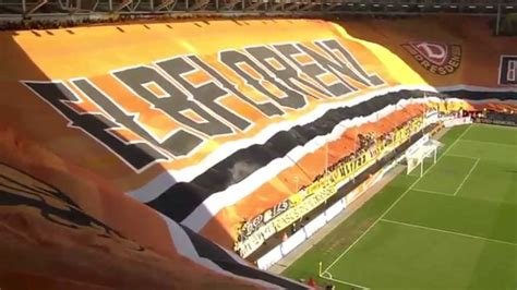 But another rival would at the same time disappear when the stasi outmaneuvered the army and fc vortwärts berlin was relocated to frankfurt an der oder in 1971. Biggest Stadium Choreography of Europe - Dynamo Dresden ...