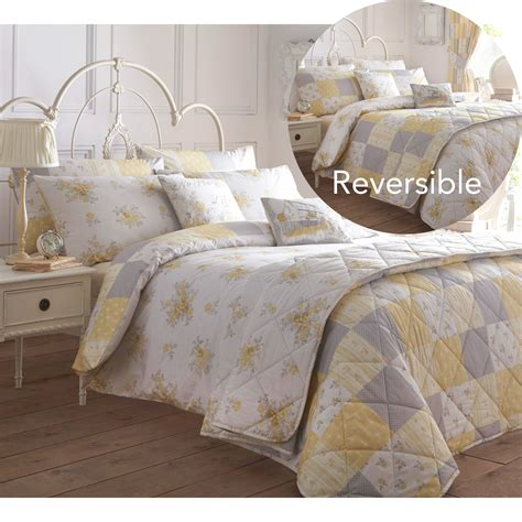 Country Duvet Covers by Shabby Country Chic Duvet Cover With Flowers Reversible