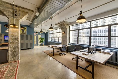 repurposed wood furniture jmc holdings 39 industrial cool office by emporium design