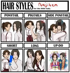Neji Tenten Hair by BayneezOne on DeviantArt