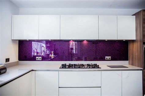 colourful kitchen cabinets modern purple kitchen www pixshark images 2371
