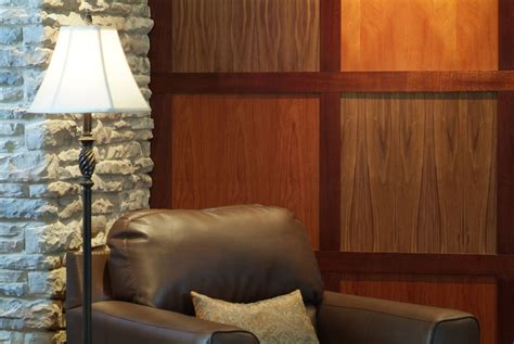 Popular Modern Wood Wall Paneling Project Sewn Modern