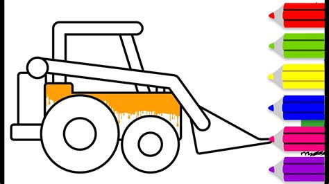 Coloring Jcb by Colouring Pages For With Jcb Drawing For Children
