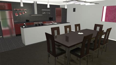 logiciel agencement cuisine ordinaire faire un plan de cuisine en 3d gratuit 1
