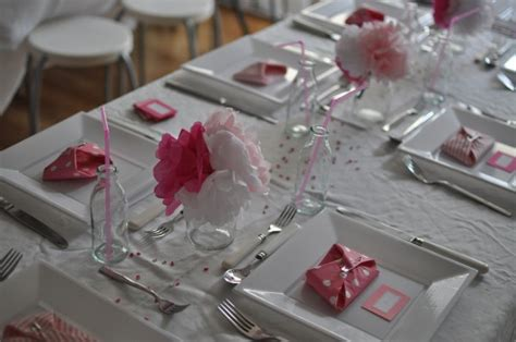 baby shower table settings photos silent sunday from the land of pink claire k creations