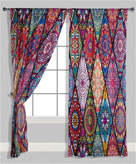 Geometric Pattern Curtains Uk by 25 Best Ideas About Hippie Curtains On Scrap