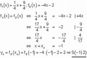 Schnittpunkte Von Funktionen Berechnen : l sungen lineare funktionen teil xiv ~ Themetempest.com Abrechnung