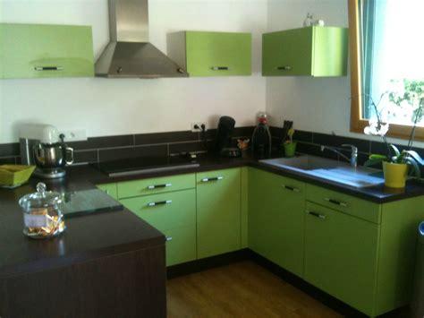 cuisine gris et vert idée déco le vert anis le de mademoiselle petit
