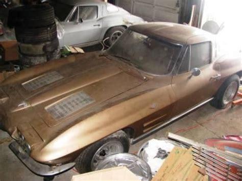estate sale find split window  corvette projects
