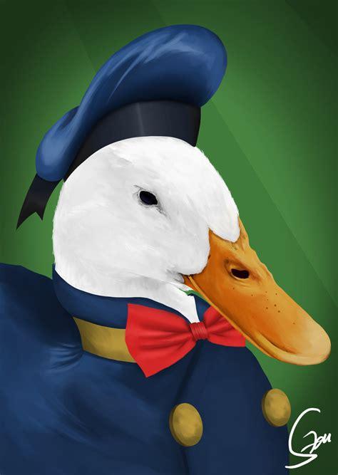 realistic donald duck cartoon image wallpaper  ipod