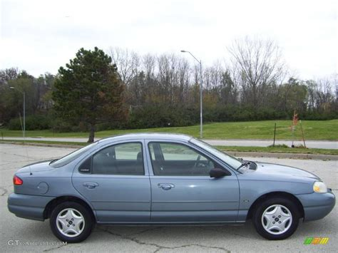 2000 Medium Steel Blue Metallic Ford Contour Se 6560425