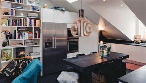 Dynamic Duplex By Pulltab Design by Attic Apartment In Stockholm