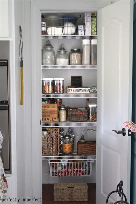 How To Organise A Pantry Cupboard by On Kitchen Space Turn Closet Into Pantry