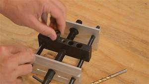 Creating A Joint With The MLCS Self-Centering Dowel Jig