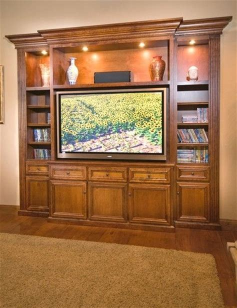 Custom Made Home Entertainment Cabinet  Builtin By
