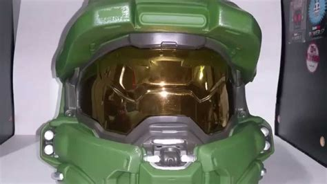 Halo 5 Master Chief Wearable Helmet Review Youtube