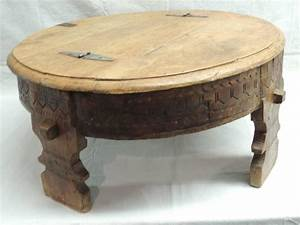 moroccan carved round coffee table for sale at 1stdibs With moroccan wooden coffee table