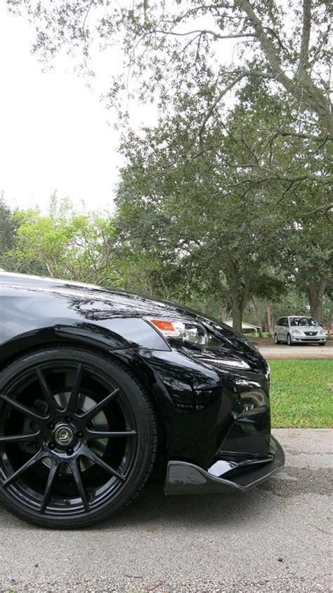 op style carbon fiber front lip    lexus