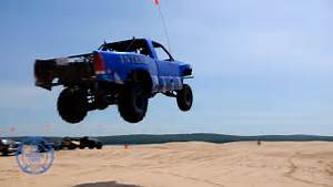Silver Lake Sand Dunes  U0026quot Jumping The Table Top U0026quot