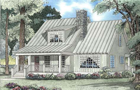 Country Cottage House Plan 59159ND Architectural