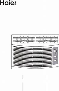 Haier Air Conditioner Hwf05xcl User Guide