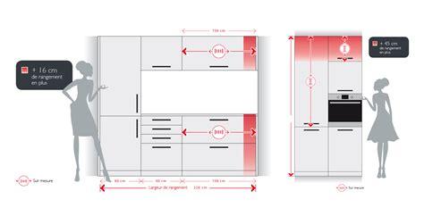 meuble sur mesure cuisine cuisine en image