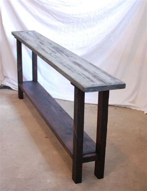 ideas  long sofa table  pinterest rustic couch rustic basement  bar  couch