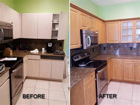 pictures  kitchen cabinet refacing call